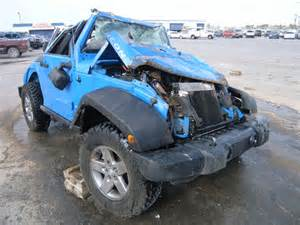 Wrecked Jeeps Wrecked 2011 Jeep Wrangler R For Sale In Tx Anthony Lot