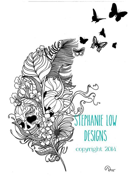 boho birds coloring pages images