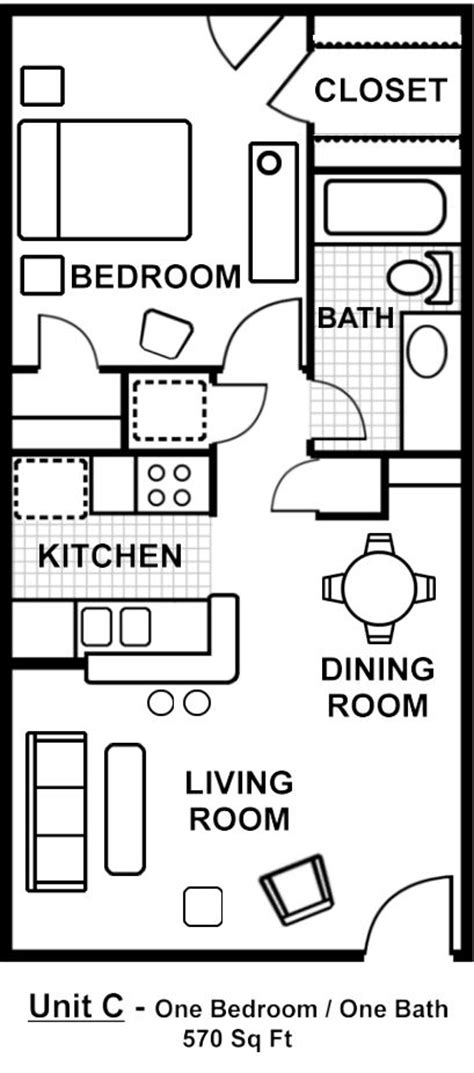 guest house floor plan studio apartment pinterest 17 best ideas about 1 bedroom house plans on pinterest