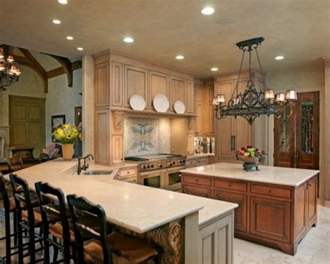 kitchen peninsula lighting love this 2 tiered island with bar and center island