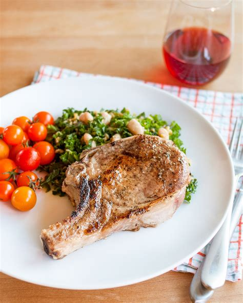 how to cook tender juicy pork chops every time kitchn