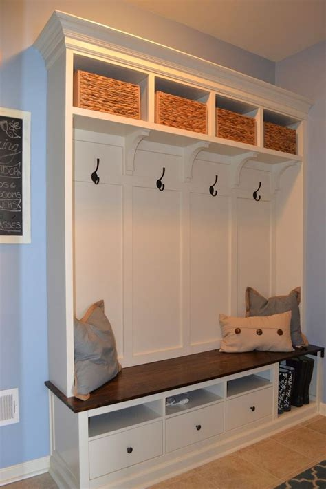 mudroom furniture ikea mud room ikea hack diy home projects pinterest mud