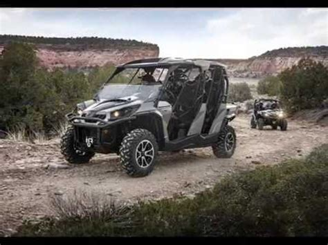 2015 can am commander max 1000 youtube