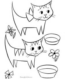 cats free coloring pages art coloring pages