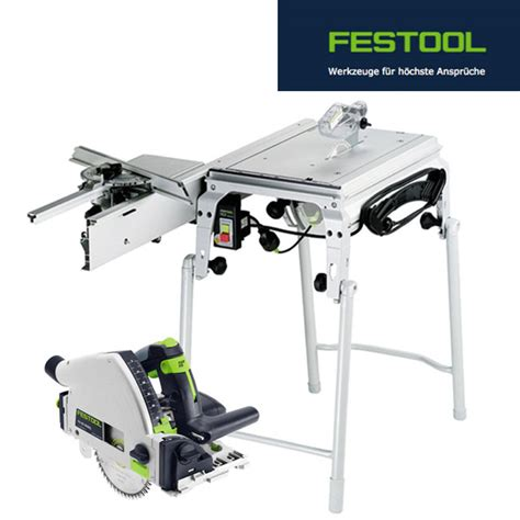 festool saw bench festool table saw cms ts 55 r set no 561566 incl extensive accessory plunge ebay