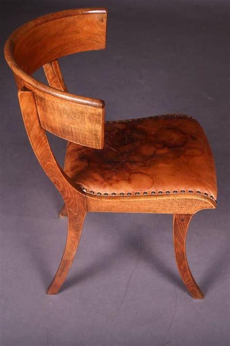 napoleon stuhl 19th century empire klismos chair for sale at 1stdibs