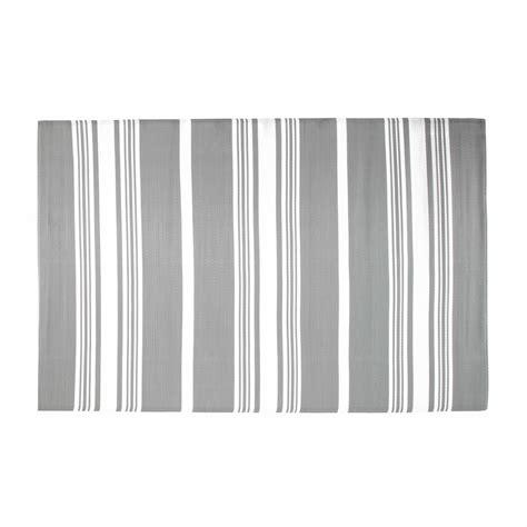 tappeto da esterno tappeto grigio da esterno in tessuto 180 x 270 cm transat