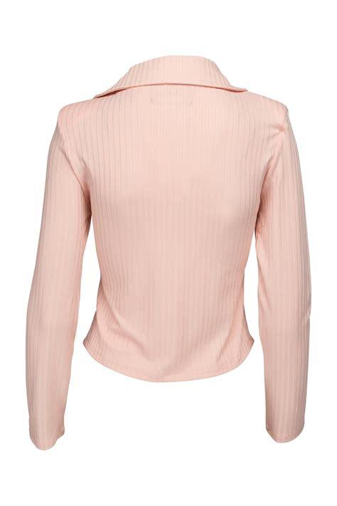 Jaket Model White Pink New Fashion Style Impor diabless of sweden frances jacket from stockholm shoptiques