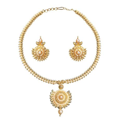 surat jewelry set earrings necklace pendant at