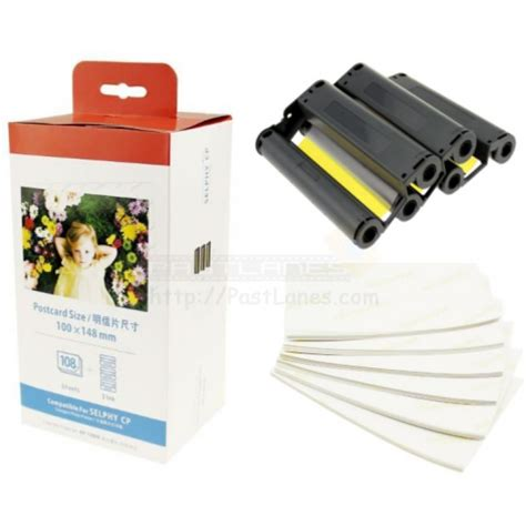 Canon Shelpy Color Ink Paper Compatible Kp 108in Color Ink Photo Paper Set For Canon