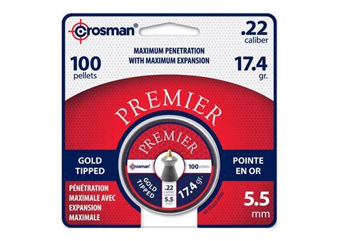 Mimis Crosman Premier Gold Tipped Termurah crosman premier gold tip 22 cal 17 4 gr 100 ct airgun depot