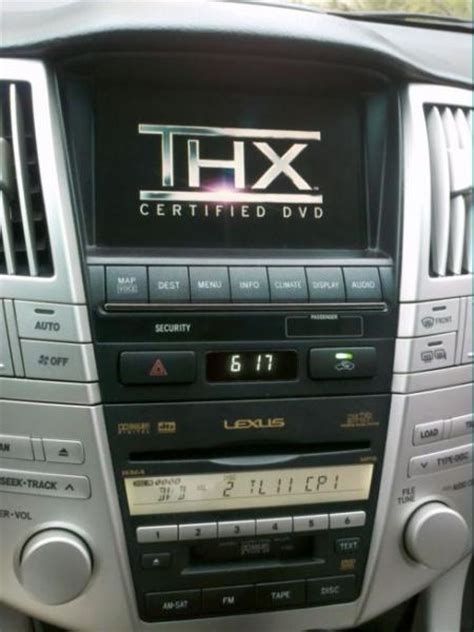 old car repair manuals 2009 lexus rx navigation system can you play dvd movies on the navigation screen if you do not have a rses clublexus lexus