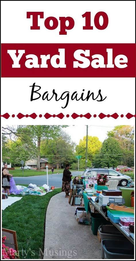 Corral Great Bargains American For Sale Top 10 List Of The Best Bargains To Be Found At Yard And Garage Sales To Be Shopping And The