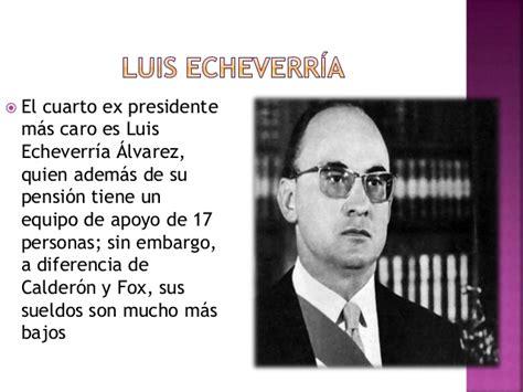 fecha de cobra pensin de ex soldado de misiones salarios a ex presidentes de la republica mexicana