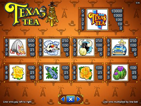 texas tea slot machine  play dbestcasinocom
