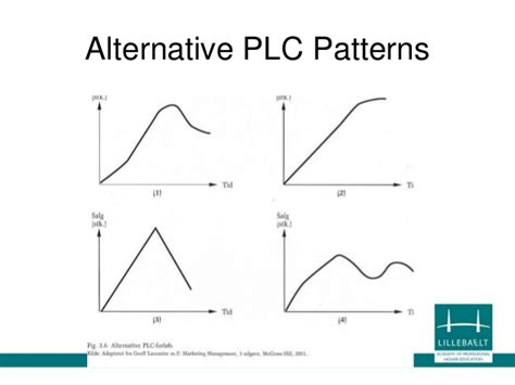 pattern of business life cycle chap 11 plc portfolio planning