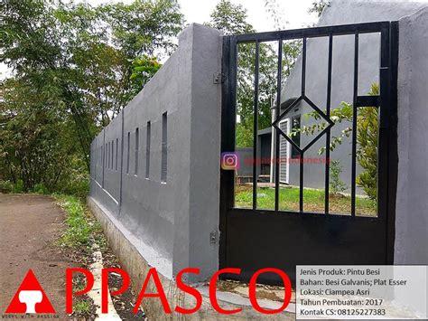 Jual Untuk Tembok by Model Pagar Minimalis Terbaru Beserta Harganya Jual