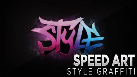design a graffiti logo photoshop cs6 speed art style graffiti logo youtube