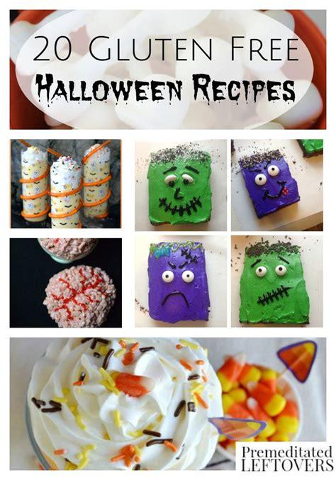 free printable halloween recipes 20 gluten free halloween recipes