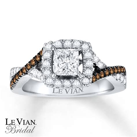 le vian bridal chocolate diamonds 14k gold