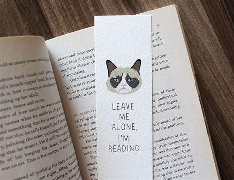 libro leave me alone funny bookmark grumpy cat bookmark leave me alone i m