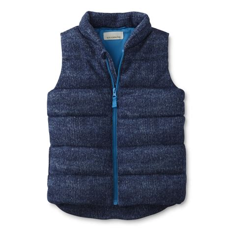 Boys Quilted Vest boys quilted puffer vest sears