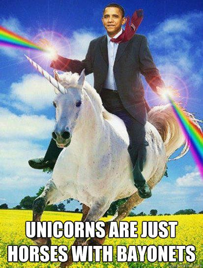 Unicorn Rainbow Meme - obama rainbow unicorn memes quickmeme