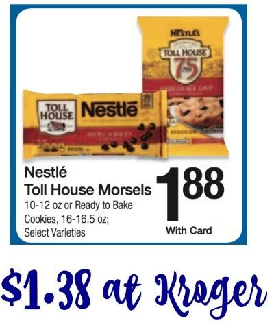 nestle toll house nestle toll house morsels i heart kroger