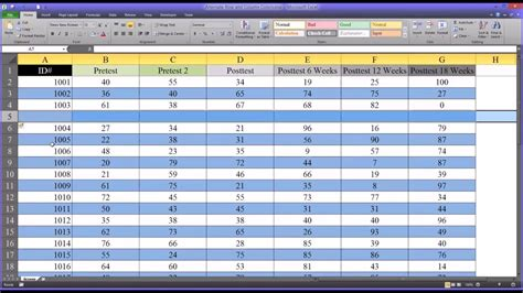format excel rows to alternate colors alternating row and column colors and other formatting