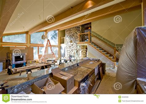 custom home remodeling stock photo image of modern house
