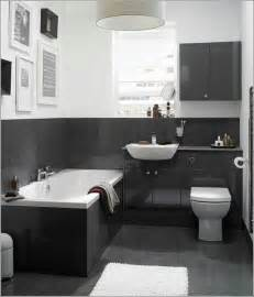 salle de bain tendance noir