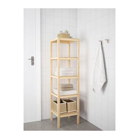 ikea bathroom shelves molger shelving unit birch 37x140 cm ikea