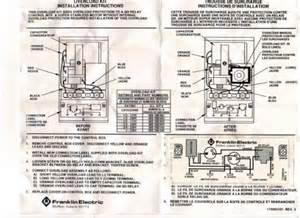 Franklin Electric Motor Wiring Diagram Franklin Overload Kit For 1hp 230v Control Box Part