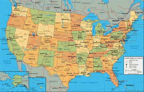 us cities map printable us map with states and cities