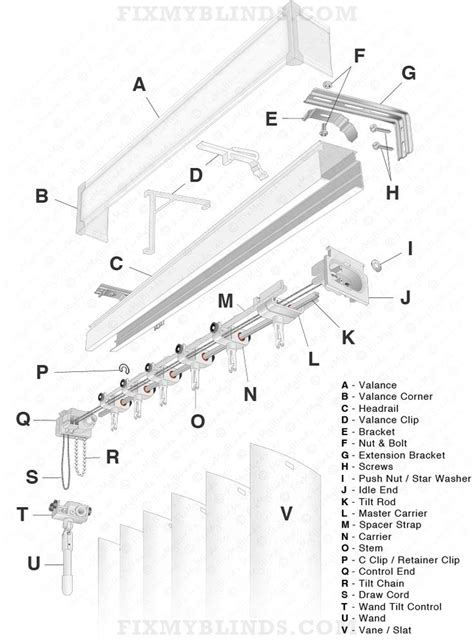 how to fix curtain blinds 46 best blind repair diagrams visuals images on pinterest