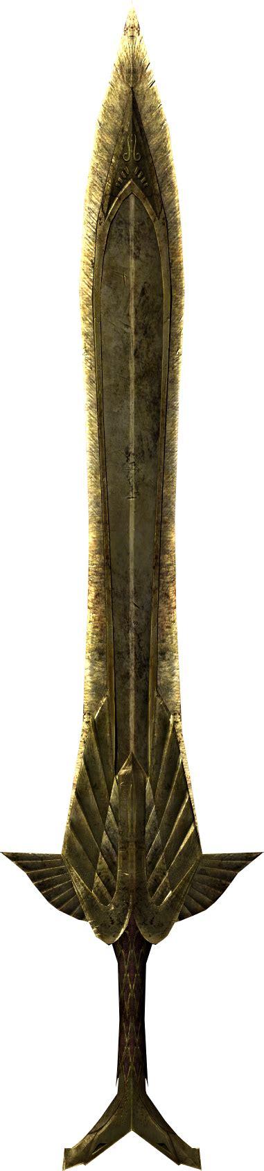 elven sword elder scrolls fandom powered by wikia