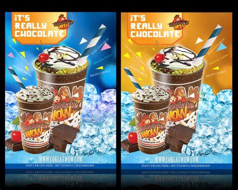 desain banner minuman sribu desain poster design poster banner minuman quot chocola