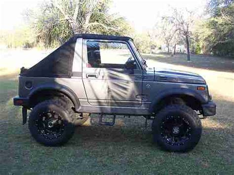 Suzuki Samurai 4x4 For Sale Find Used Suzuki Samurai 4x4 Diesel In Lecanto Florida