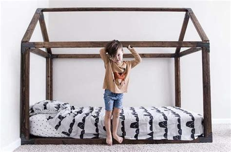 montessori floor bed frame floor beds for toddlers