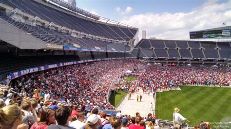 soldier field section 224 concert seating rateyourseats