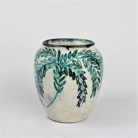 Vase Pottery by Deco Pottery Vase By Max Laeuger For Tonwerke Kandern