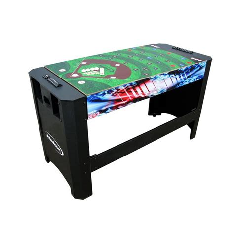 air hockey ping pong table halex 54in 4 in 1 flip table air hockey ping pong pool