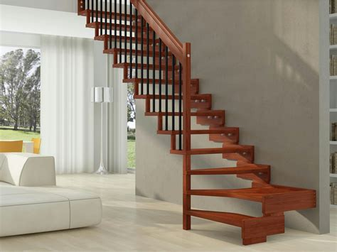 Open Staircase Ideas Wooden Open Staircase Trasforma Design By Rintal