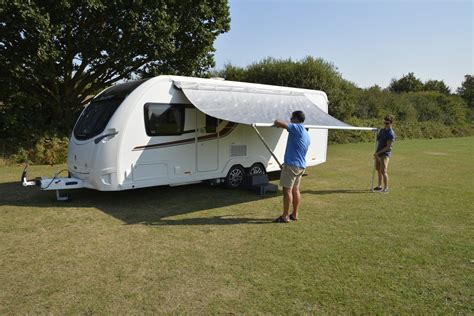 roll out shade awning ka revo zip 240 roll out awning 2017 caravan awnings