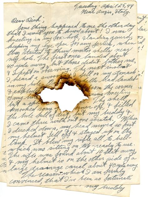 war letters project chapman university