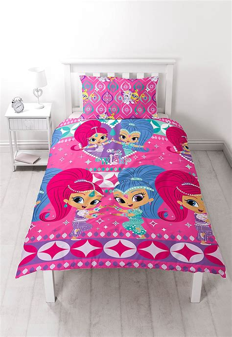 piumone winx shimmer shine zahramay reversible rotary single bed