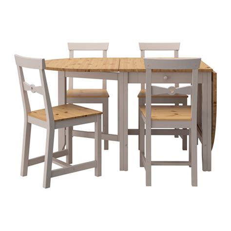 Ikea Folding Table And Chairs Gamleby Table And 4 Chairs Ikea