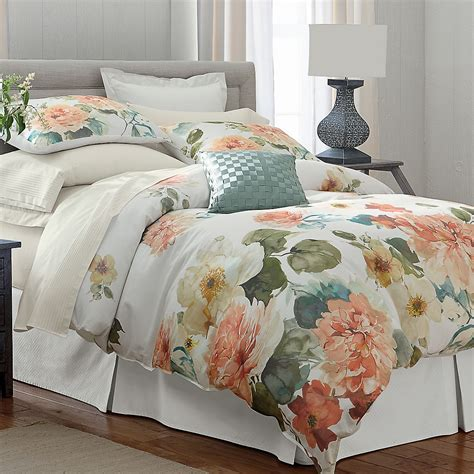 the company store bedding charisma 174 sonia floral duvet cover sham bedskirt the