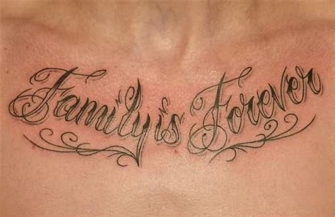 family first chest tattoo image result for http www tattoostime images