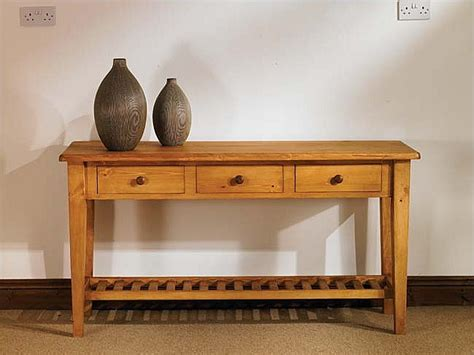 Hallway Side Table Mottisfont Waxed Or Side Table 5ft Oak Furniture Solutions